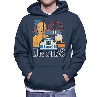 Star Wars Tatooine Droids Men's Hooded Sweatshirt