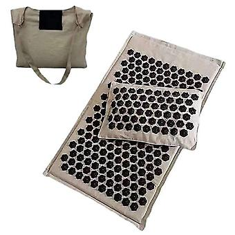 Lotus Spike Acupressure Massaggio Mat e Set cuscino - Yoga Agopuntura Muscolare