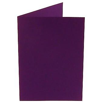 Papicolor violett A4 Doppelkarten