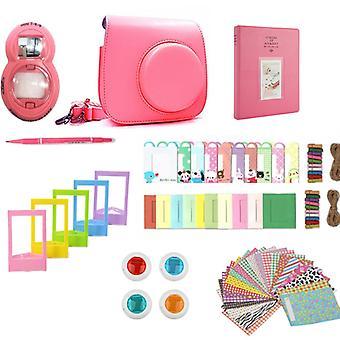 Accessory Sets for Fujifilm Instax Mini 8/9-Flamingo Pink