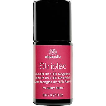 StripLAC Peel Off UV LED Nail Polish - Hurly Burly 8ml (33)