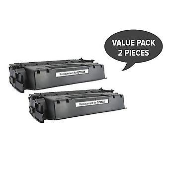 Hp 2 X Q7553X 53X Cart315Ii Cart308Ii Q5949X 49X Premium Generic Toner