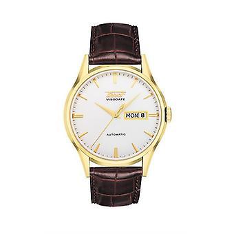 Tissot Visodate T0194303603101 Witte wijzerplaat Automatische Men's Horloge