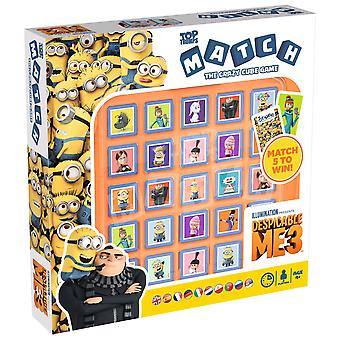 Despicable Me 3 Top Trumps Match - The Crazy Cube Game