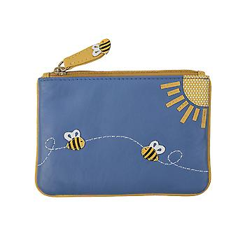 Primehide Small Womens Coin Purse - Bumblebee Design Change Wallet - 727