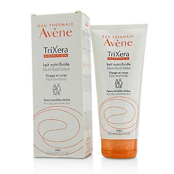 Tri xera nutrition nutri fluide visage & lotion pour le corps pour la peau sèche sensible 220262 200ml/6.7oz