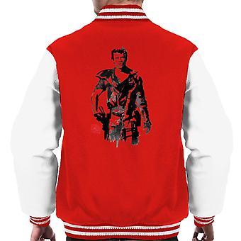 Sumi E Max Rockatansky Men's Varsity Jacket