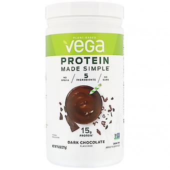 Vega, Protein Made Simple, Dark Chocolate, 9.6 oz (271 g)