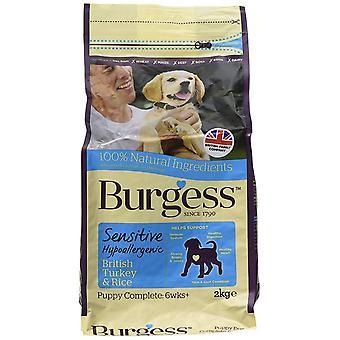 Burgess Sensitive Puppy Turquie - 2kg