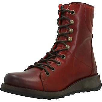Fly London Boots Same109fly Couleur Rouge