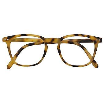 Leesbril Dames Alex lichtbruin/zwarte dikte +1.00