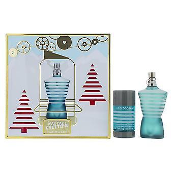 Jean Paul Gaultier Le Male Eau de Toilette 75ml & Deodorante Stick 75ml Regalo Set