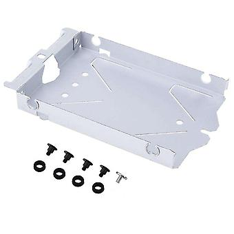 Hard drive caddy mounting bracket for sony ps4 12xx metal replacement with screws | zedlabz