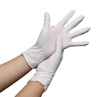100pcs Disposable Gloves- Non Latex Vinyl Nitrile Ultra-thin Gloves, Grade