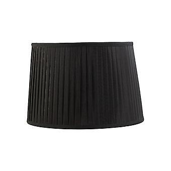 40 Cm Tissu Conique Abat-jour noir