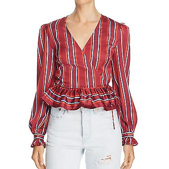 The Fifth Label | Striped Wrap Top