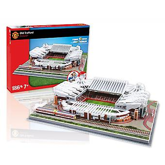 Manchester United Old Trafford Football Stadium 3D Jigsaw Puzzle