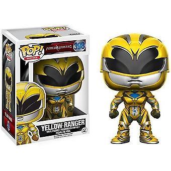 Funko - Movies Power Rangers - Yellow Ranger POP! Vinyl Kids Speelgoed