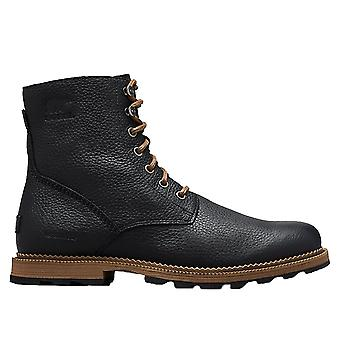 Sorel Madson 6 Boot WP Boot - Black / Ancient Fossil
