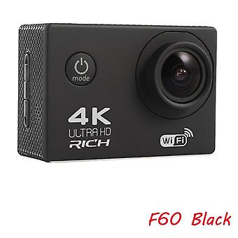 "5mp- F60/f60r , Ultra Hd 4k/30fps , Wifi 2.0"" Action Sports Camera"