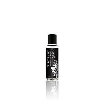 Sliquid naturals lubrificante de silicone prateado 59 ml / 2 fl oz