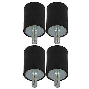 M4 VD Type Rubber Mount Isolator for Generators 15x20 mm Pack of 4