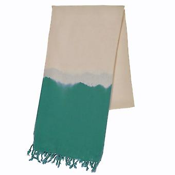 Teal Dip Dye - Beach Towel