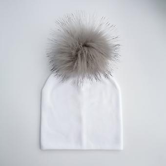 Kids Cotton Hats Baby Photo Props - Newborn's Acessórios Toddler Bonnet