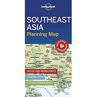 Lonely Planet Southeast Asia Planning Map (Map)