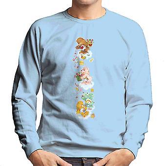 Omsorg Bjørner Christmas Tenderheart Bear Candy Dusj Menn's Sweatshirt