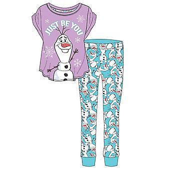 Frozen Womens/Ladies Olaf Pyjamas