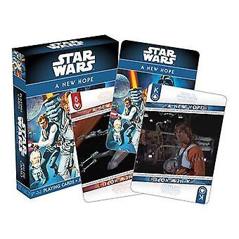 Star Wars - ep. 4 uusi toivo pelaamassa korttia