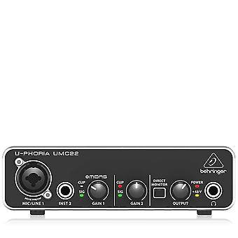 Interfaccia audio del computer Behringer umc22