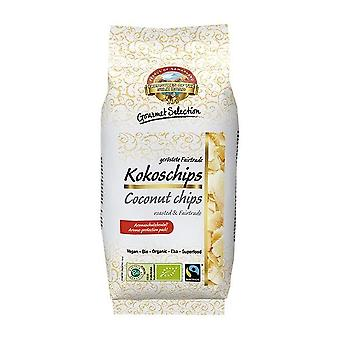 Pearls of Samarkand Fairtrade & Organic Coconut Chips Roasted 110g x12
