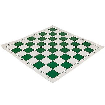 20 inch Roll Up Vinyl Chess Board groen