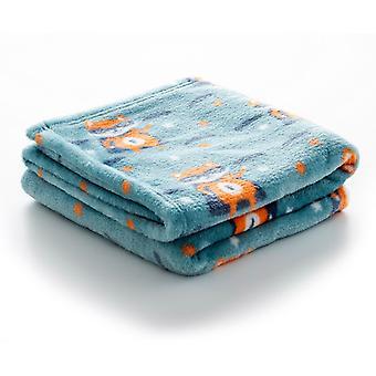 Blanket Quid Cotton Textile (100 x 75 cm)