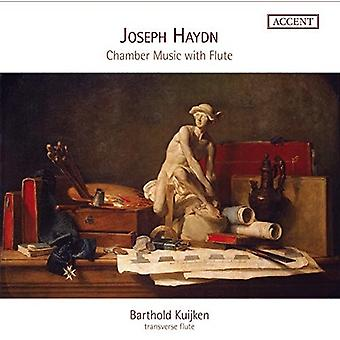 Haydn / Kuijken - Kammermusik med fløjte [CD] USA import
