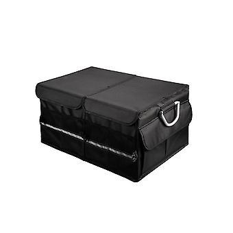Folding Car Trunk Organizer ��Non Slip Bottom Sturdy Back Seat Storage