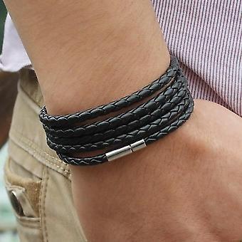 Wrap Long Leather Bracelet
