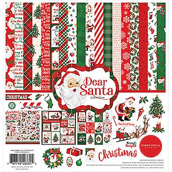 Carta Bella Rakas Santa 12x12 Tuuman Kokoelmasarja