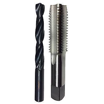 M5 X .8 Hss Stecker Hahn und passende 4,20 mm Hss Bohrer Bit In Kunststoff-Beutel
