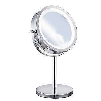 YANGFAN الرئيسية LED على الوجهين سطح المكتب ماكياج مرآة