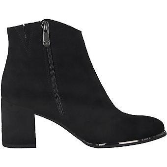 Booties Middle Heels Negro