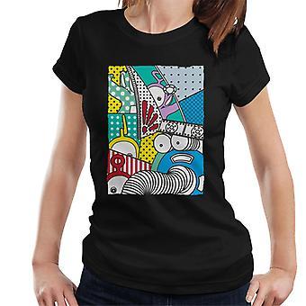 Teletubbies And Noo Noo Women's T-Shirt