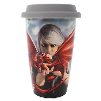 Anne Stokes Dragon Kin Travel Mug