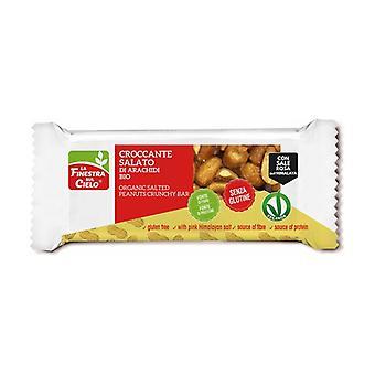 Krispig salt jordnötsglutenfri 30 g