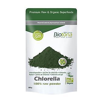 Chlorella raw powder 200 g of powder