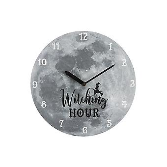 Gothic Homeware Witching Hour Wall Clock