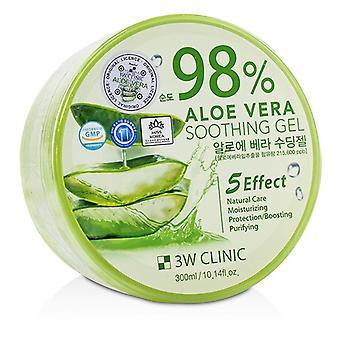 3W klinikka 98 % Aloevera rauhoittava geeli 300ml/10.14-oz