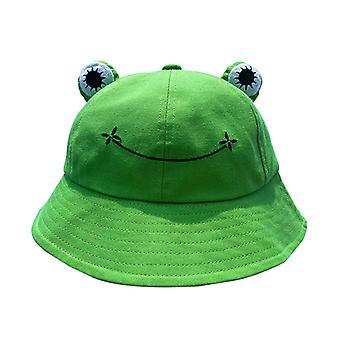 Chapéu de balde de sapo fashion para mulheres verão outono mulheres ao ar livre caminhada praia pescando tampa protetor solar feminino sunhat